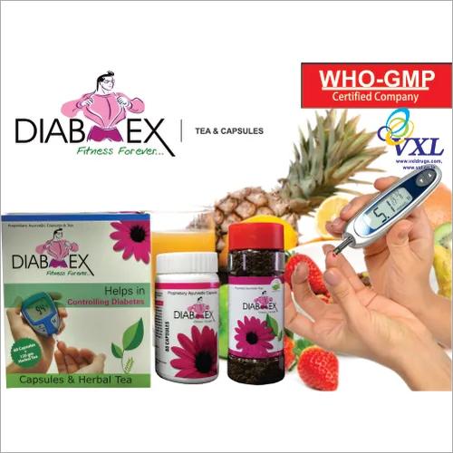 DIABEX Anti Diabetic Herbal Capsules And Herbal Tea