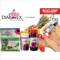 DIABEX Anti Diabetic Herbal Capsules And Herbal Tea