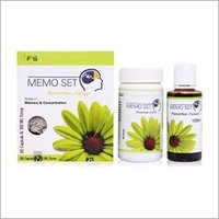 MEMO SET Memory Enhancer Power And Syrup