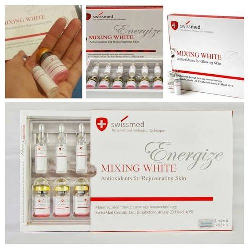 Swissmed Mixing White Energize Glutathione Injections