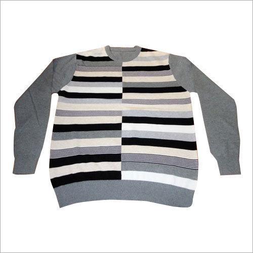 Mens Intarsia Sweater