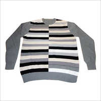 Mens Intarsia Sweater
