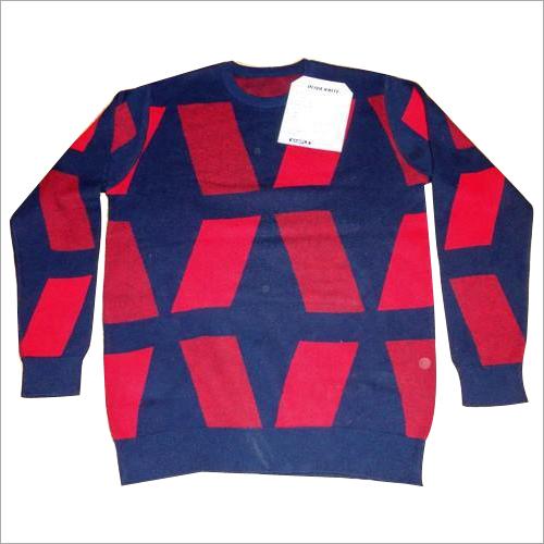 Men's Jacquard Sweater