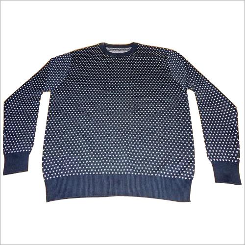 Jacquard Men's Sweater