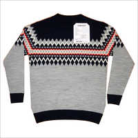 Men's Round Neck Sweater