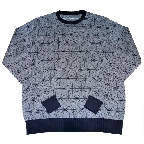Men's Allover Jacquard Sweater