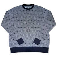 Men's Allover Jacquard Sweater