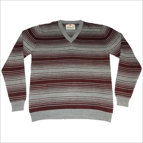 Mens Striper Sweater