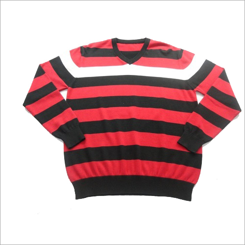 Men's Striper Sweater
