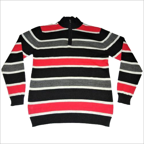 Half Zipper Mens Sweater