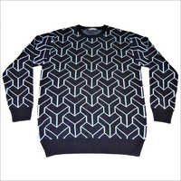 Mens Jacquard Sweater