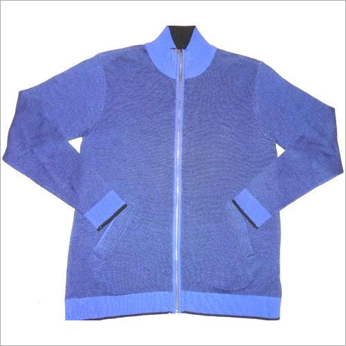 Mens Zipper Sweater
