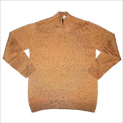 Mens Half Zipper Sweater