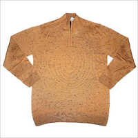 Mens Half Zipper Sweater