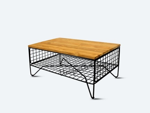 Industrial Living Room Coffee Table