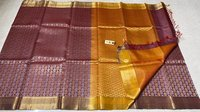PURE KOSA SILK HANDLOOM FULL JARI JALA SAREE.