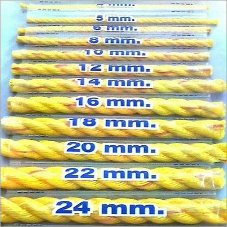 4-24 mm Yellow PP Ropes
