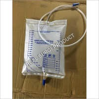 Urine Collection Bag Fitted With Non Return Valve