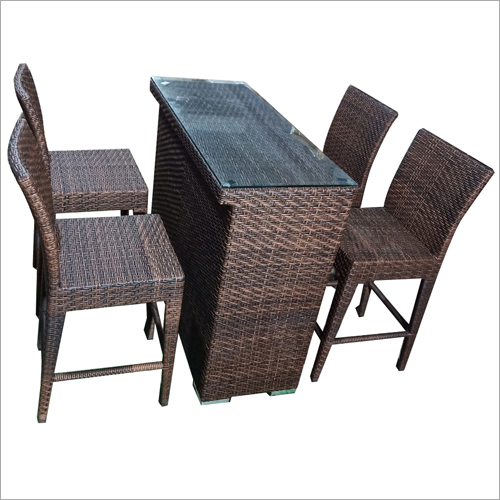 Outdoor Bar Dining Set
