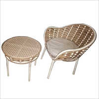 Wicker Coffee Set