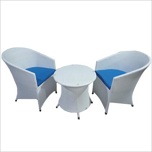 2 Seater Wicker Coffee Set
