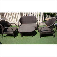 4 Seater Wicker Sofa Set