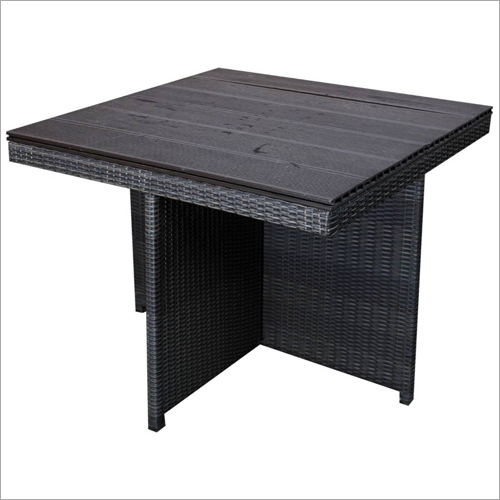 Outdor Wicker Table