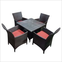 Wicker Dining Table Set