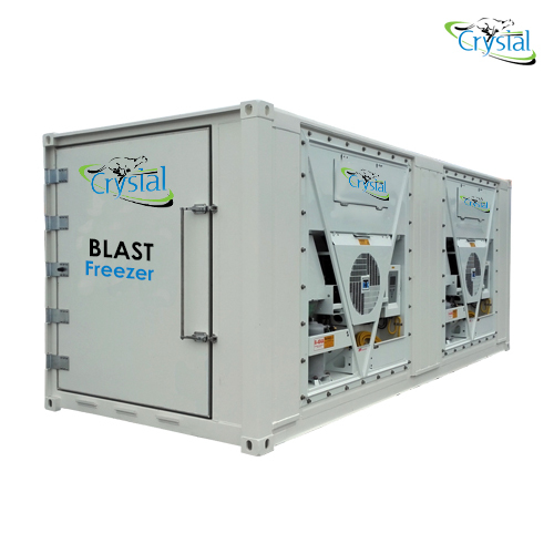 2000 Kg-day Blast Freezer