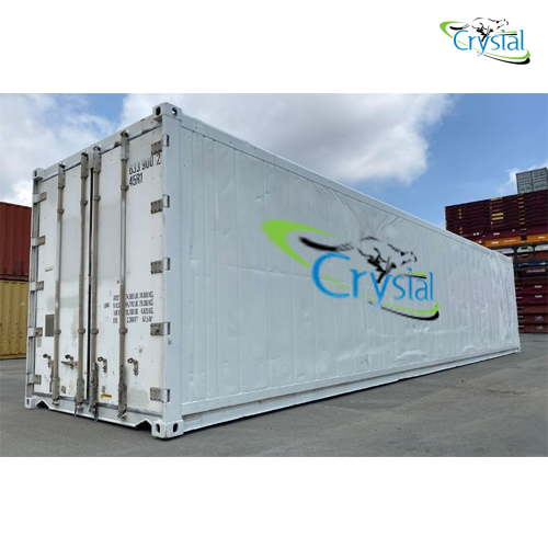 Crystal Used Insulated Shipping Container