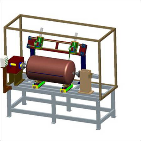 LPG Cylinder Welding Automation