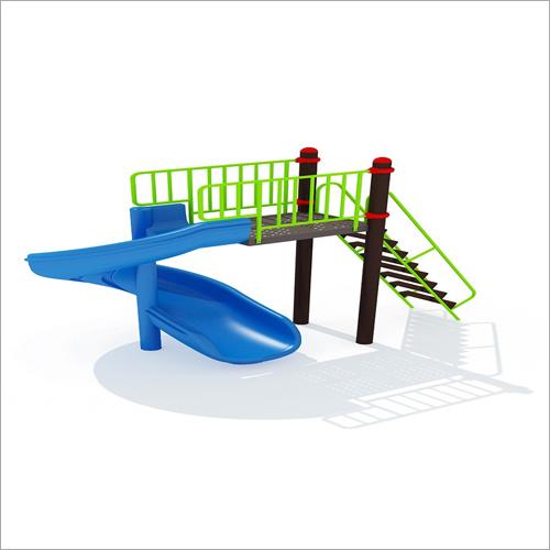 Playground FRP Spiral Slide