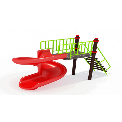 Freestanding Spiral Single Slide