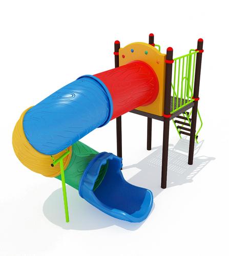 Playground Tube Spiral Slide