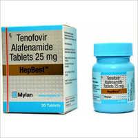 25 MG Tenofovir Alafenamide Tablets