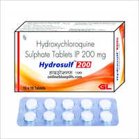 200 MG Hydroxychloroquine Sulphate Tablets IP