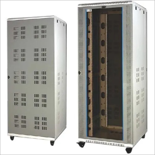 Netrack 42U 800mm x 1000mm Floor Mount Server Network Rack with Glass Door