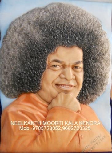 Sathya Sai Baba Marble Status