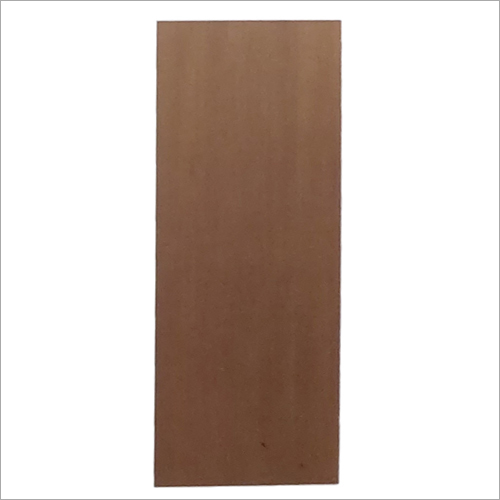 Decorative Moulded Plain Teak Door