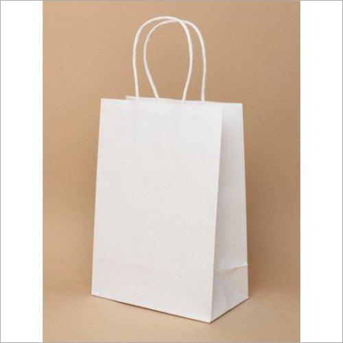 5X12 Inch White Kraft Paper Bags