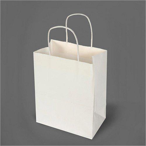 5X10 Inch White Kraft Paper Bag