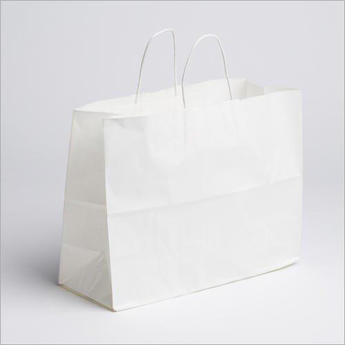5X15 Inch White Kraft Paper Bag