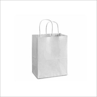 4X10 Inch White Kraft Paper Bag