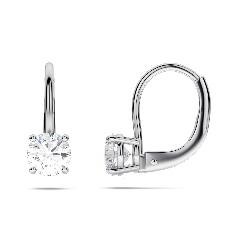 92.5 silver hoop earrings