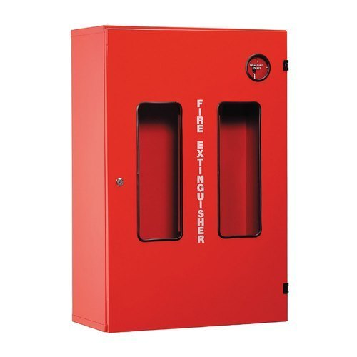 Fire Hose Reel and Extinguisher Cabinet