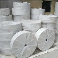 White Plain Paper Cup Bottom Roll