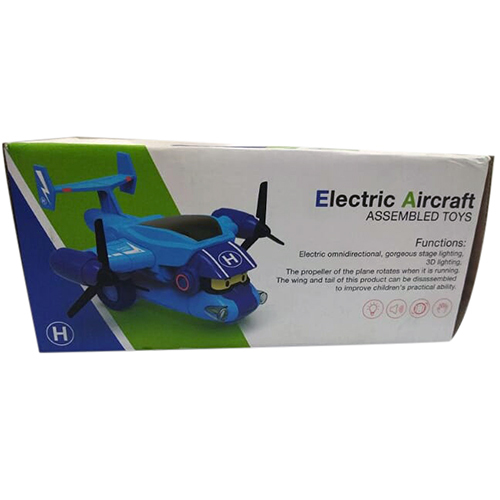 Electric Aircraft Assembled Toys