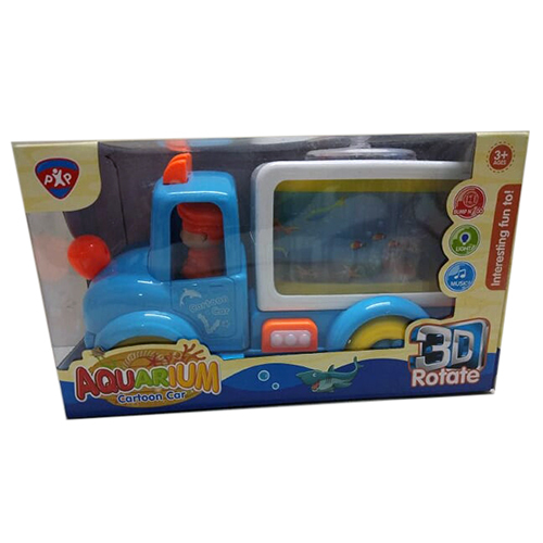 Aquarium Cartoon Car