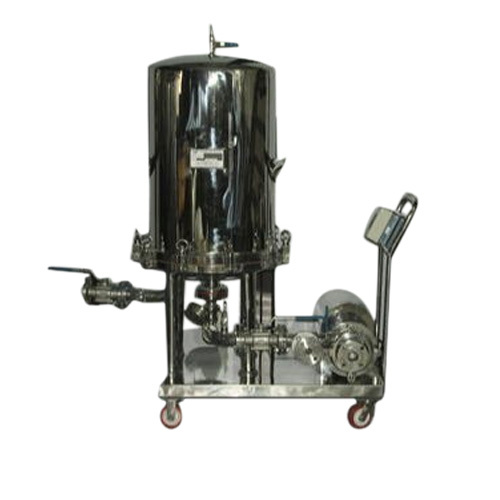 SS Sparkler Filter Press