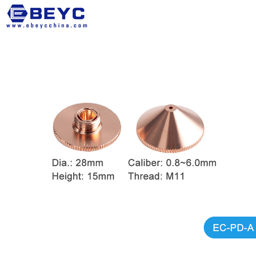 Ebeyc T2 T3 Copper Fiber Laser Nozzles Holder For Precitec Raytools Wsx Laser Cutter